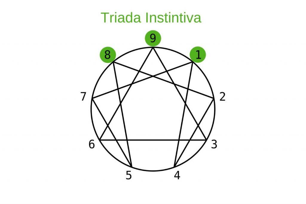 Las Triadas del Eneagrama: Triada instintiva
